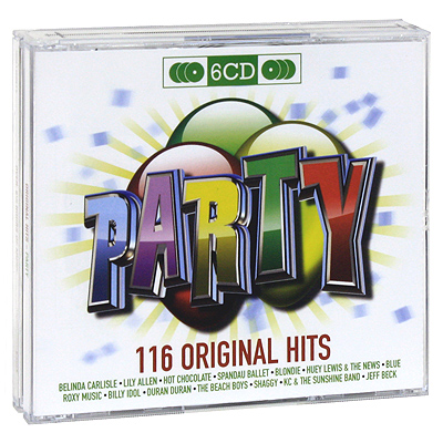 Original Hits: Party (6 CD) Серия: Original Hits инфо 9920g.